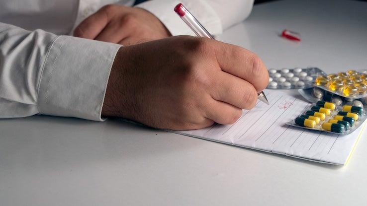 Doctor Writes A Prescription